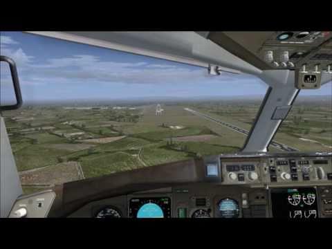 [FSX] Level-D 767-300ER - Full flight - Gatwick - Manchester (Long)