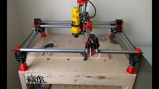 Mostly Printed CNC - WD Mod V2