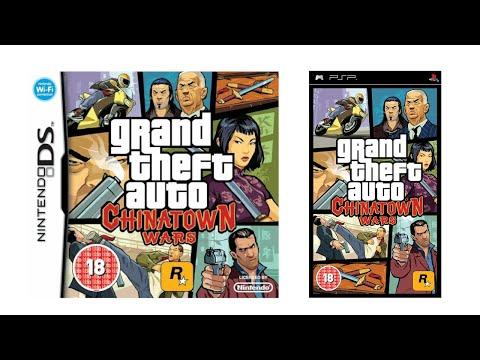 Sony PSP Vs Nintendo DS - Grand Theft Auto Chinatown Wars Comparison
