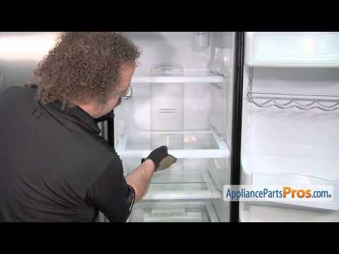 Refrigerator Shelf Stop (part #WR02X10662) - How To Replace
