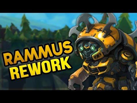 NEW RAMMUS REWORK! Big 7.10 PBE Changes League News (League of Legends)