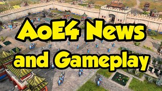 AoE4 News and extended look at gameplay!
