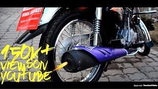 Honda CG125 ExhaustSound Test 2018 Model