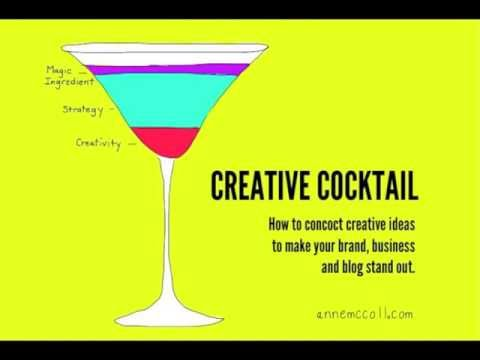 Creative Cocktail:   How to concoct creative ideas