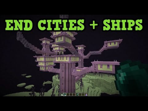 Minecraft Xbox 360 / PS3 - TU46  End Cities & End Ships Feature