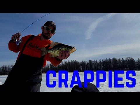 Ice Fishing Basin Crappies 2016