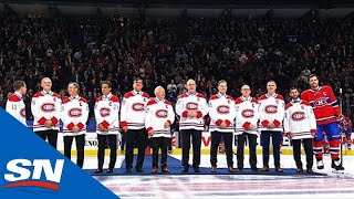 Montreal Canadiens Honour Past Captains Of The Franchise