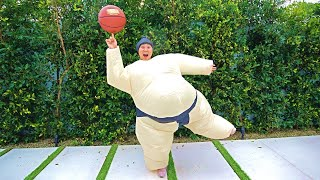 Download 24 HOUR DATE WITH CARTER SHARER IN A SUMO SUIT!! Video