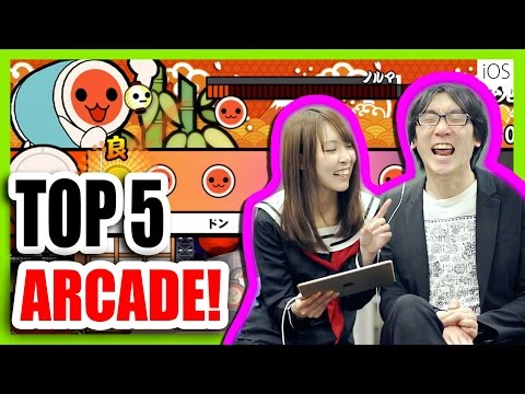 Top 5 FREE Arcade Games in JAPAN! - iPhone/iPad [iOS]