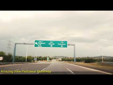 CPEC Lahore to Peshawar || China Pakistan Roads and Transport