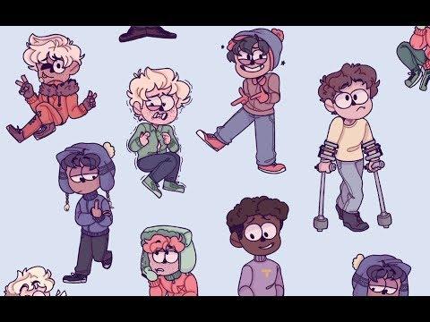 Meet Some Friends of Mine | South Park | Speedpaint