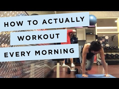 I Learned How to Work Out in the AM (And Here's How You Can, Too)