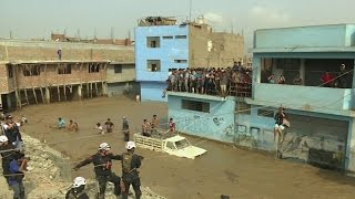 Dozens killed in Peru by vicious mudslides and flooding