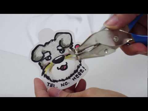 DIY Shrink Plastic Pet Tag