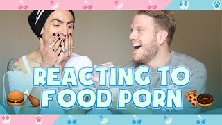 Download REACTING TO FOOD PORN! Video