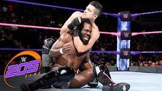 Rich Swann vs. TJP - 2 out of 3 Falls Match: WWE 205 Live, Oct. 10, 2017