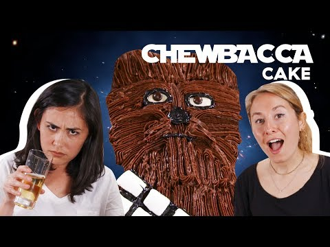 How To Decorate A Star Wars Chewbacca Cake | Delish | Cult Kitchen