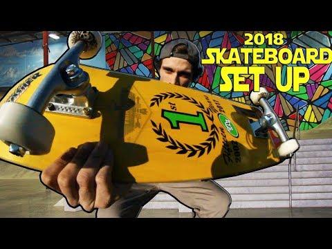 2018 Complete Skateboard Setup | Funkythreadz