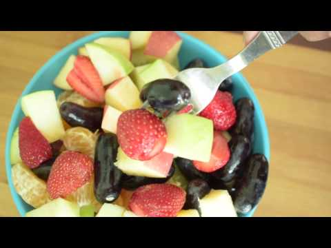 How to make quick and easy fruit salad at Home | BeautyOy