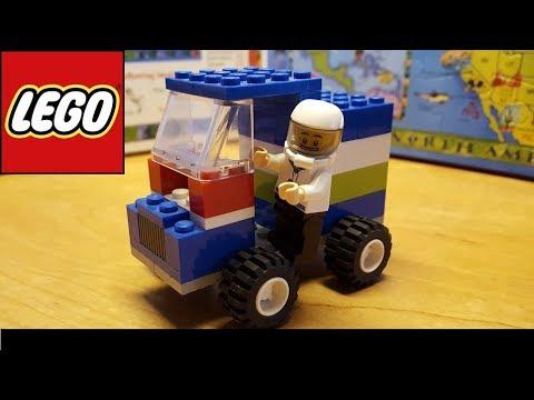 Lego car build