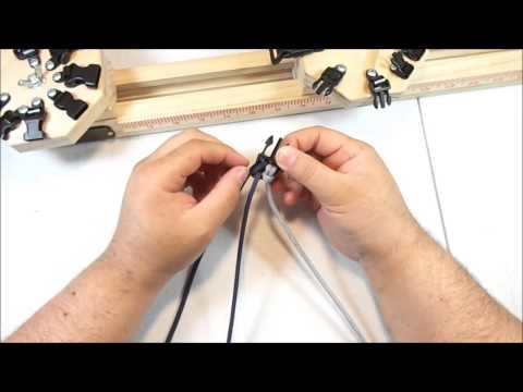 How to set up paracord and buckles using the ppj-16 paracord jig