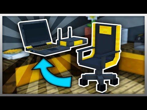 ✔️ Working GAMING SETUP in Minecraft! (EPIC Minecraft Mod)