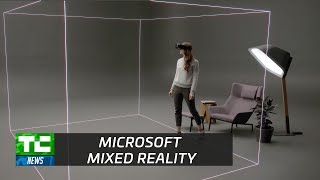 Microsoft's 'mixed reality' headsets