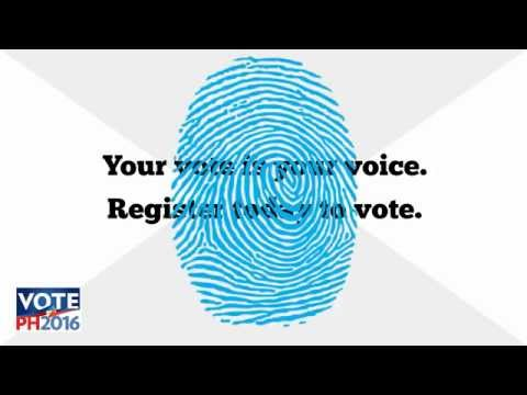 How to register to vote in the 2016 PH elections