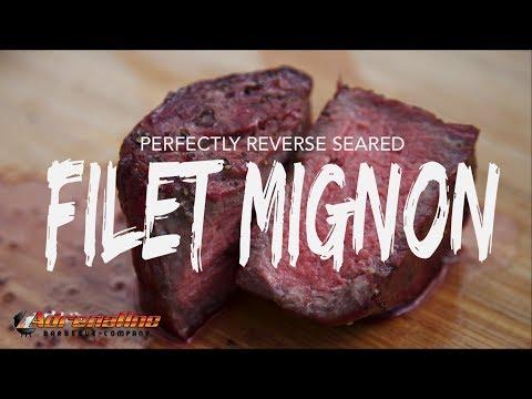 Grilled Filet Mignon Steak Recipe - Reverse Seared Filet Mignon | Cold Grate Technique