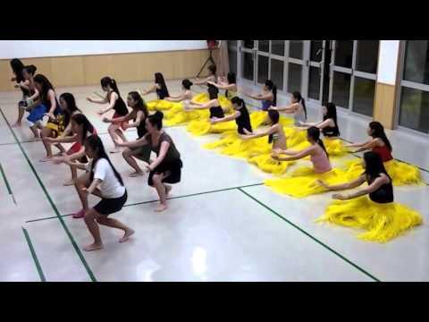 Okinawa, février 2013. Chorégraphie Heiva i Osaka