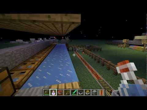 Minecraft: How to Run Faster than a Minecart [No Mods]