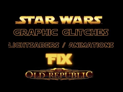SWTOR: Lightsaber / Animations Invisible Fix  (AMD Users)