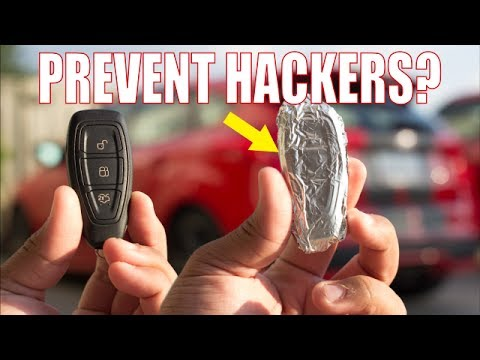 Should You Wrap Car Keys In Foil To Prevent Hackers?