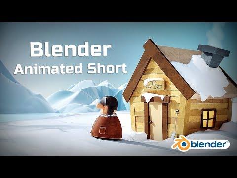 The Arctic Explorer - Blender Animated Short