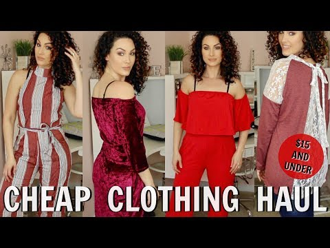 CHEAP CLOTHING TRY ON HAUL   GAMISS   The Glam Belle