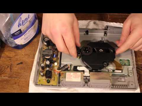 How To Fix A PS1   Freezing and Disc Read Error (Sony PlayStation One)