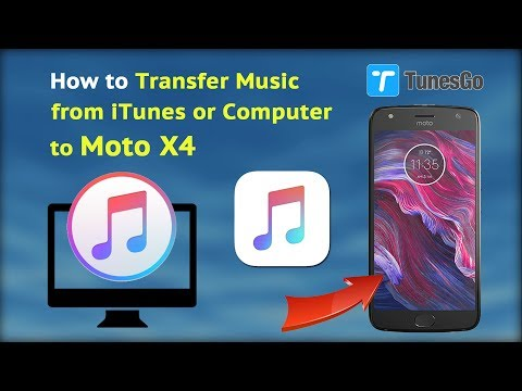 Put Music On Moto X4 - How to Transfer Music from iTunes or Computer to Moto X4