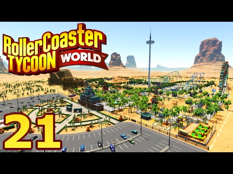 RollerCoaster Tycoon World - Part 21 - NEW UPDATE?