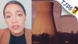 AOC Now Open To NUCLEAR  Green New Deal!?