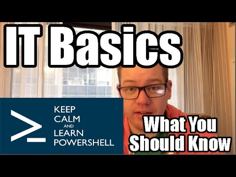 Basic Skills for Computer Jobs - What you should know about IT Basics