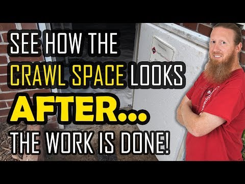 Crawl Space Encapsulation After | Completed Crawl Space Encapsulation | Crawl Space Vapor Barrier