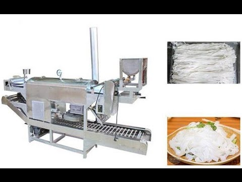 Rice Pho Noodle Making Machine