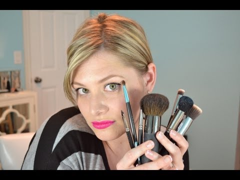 My Large Makeup Brushes, Favourites & Bests For Beginners!
