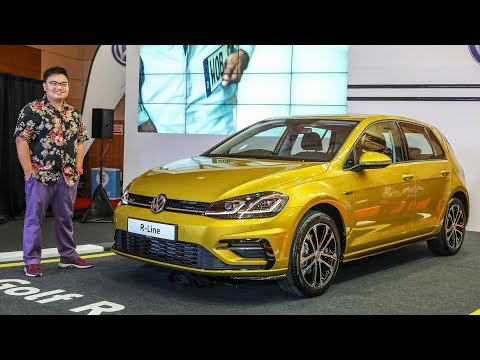 FIRST LOOK: 2018 Volkswagen Golf R-line Mk7.5 in Malaysia - RM166,990
