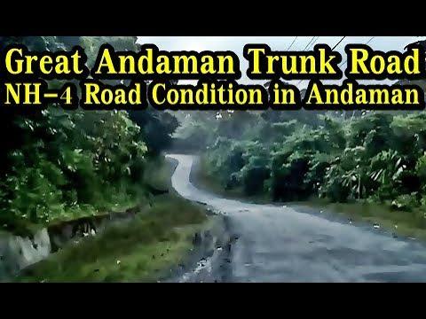 NH-4 aka Andaman Trunk Road Condition | Drive on National Highway 4 in Andaman & Nicobar Islands