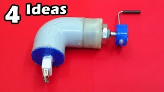 4 Amazing Ideas and Homemade Inventions