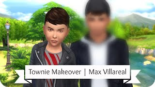 The Sims 4 I Maxis Match Townie Makeover - Zoe Patel ♡