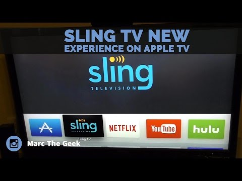Sling TV New Experience on Apple TV