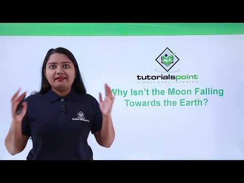 Class 9th Physics - GRAVITATION - Why isn't the moon falling towards the earth