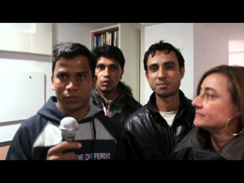 bangladeshi students  are facing problems in spain.mpg